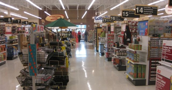 Shelly Ace Hardware interior